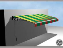 Markiza 3,5 typu BQR, grafika komputerowa 3D, Effect-System, Kłodzko