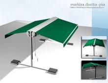 Markiza duetto, grafika 3D,  2004