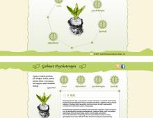 Gabinet Psychoterapii, wersja nr 2, layout strony www