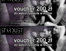 Stardust, voucher, składka, 2012, Wrocław