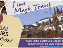 Magic Travel, baner do internetu, 2012, Wrocław